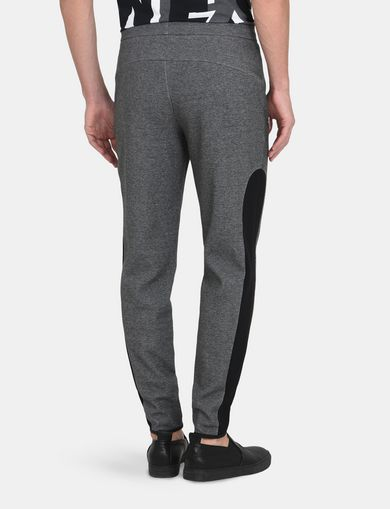 FLEECE EMBOSSED LOGO PANT