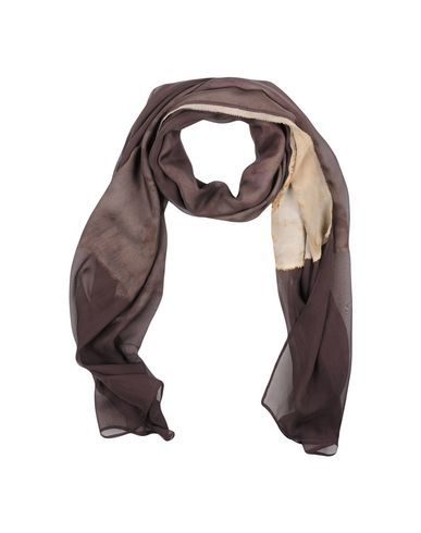 Фото - Женский палантин MAISON LAVINIATURRA темно-коричневого цвета