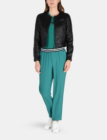 ARMANI EXCHANGE STRIPED WAIST PULL-ON PANT Pant Woman a