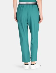 ARMANI EXCHANGE STRIPED WAIST PULL-ON PANT Pant Woman r