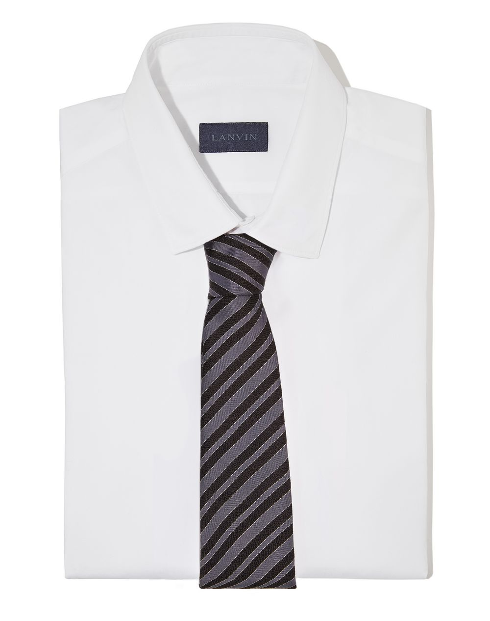 "BLACK ""CLUB"" TIE - Lanvin"