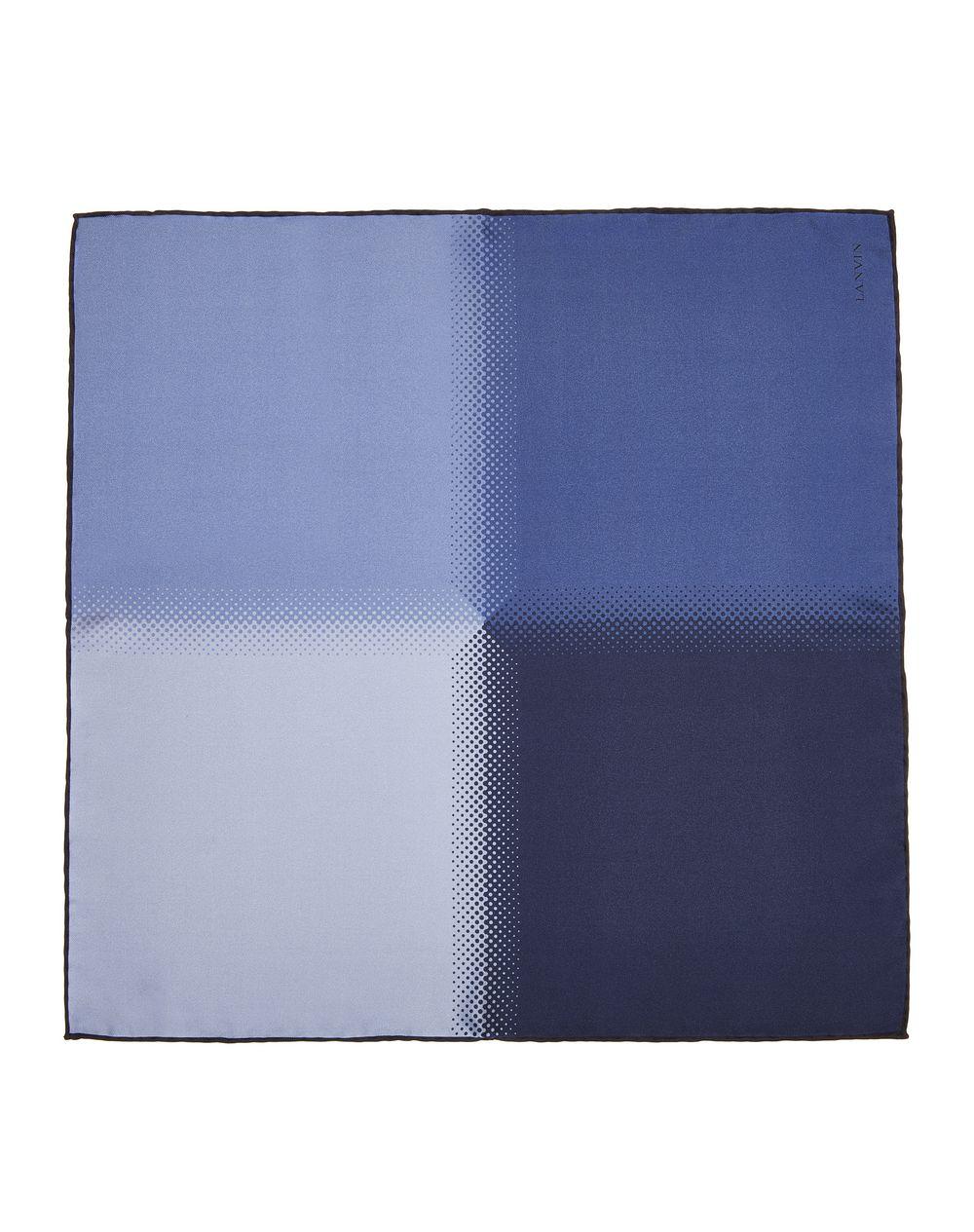 NAVY BLUE PLAIN POCKET HANDKERCHIEF - Lanvin