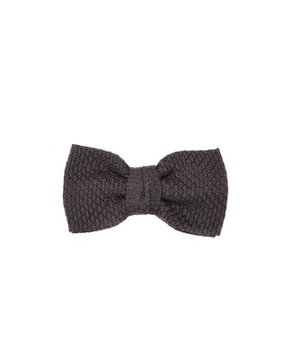 "BLACK ""PARIS"" BOW TIE"