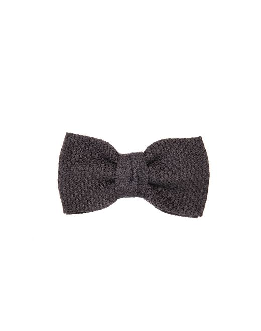 "lanvin ""paris"" black bow tie men"