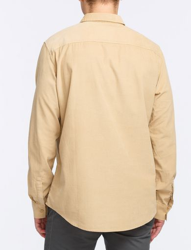 SLIM-FIT CORDUROY SHIRT