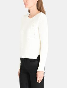 ARMANI EXCHANGE POINTELLE DETAIL SWEATER Pullover Woman d