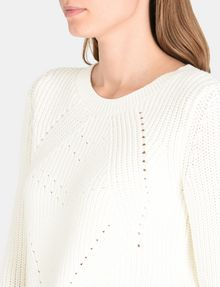 ARMANI EXCHANGE POINTELLE DETAIL SWEATER Pullover Woman e