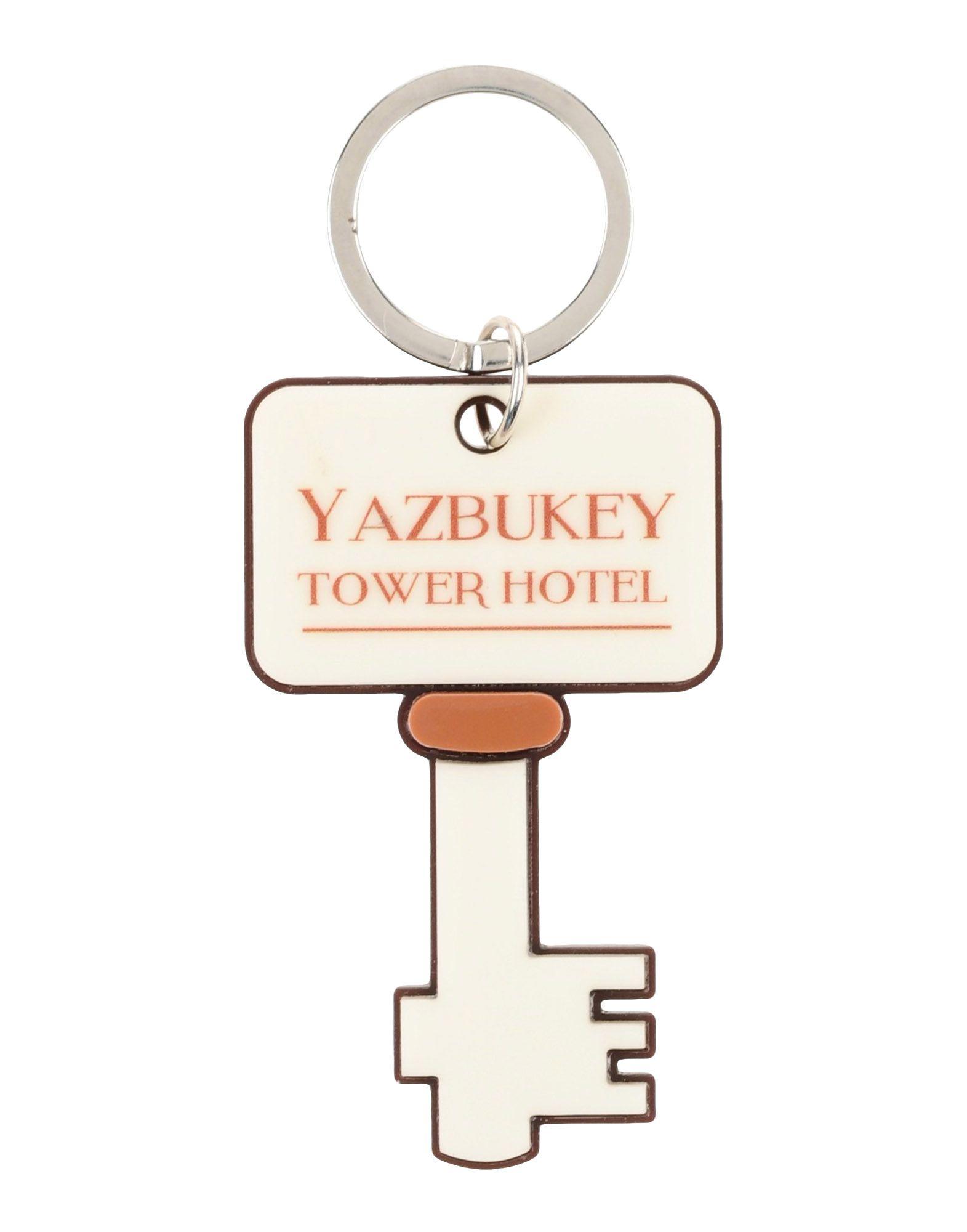 YAZBUKEY Key Ring in Beige