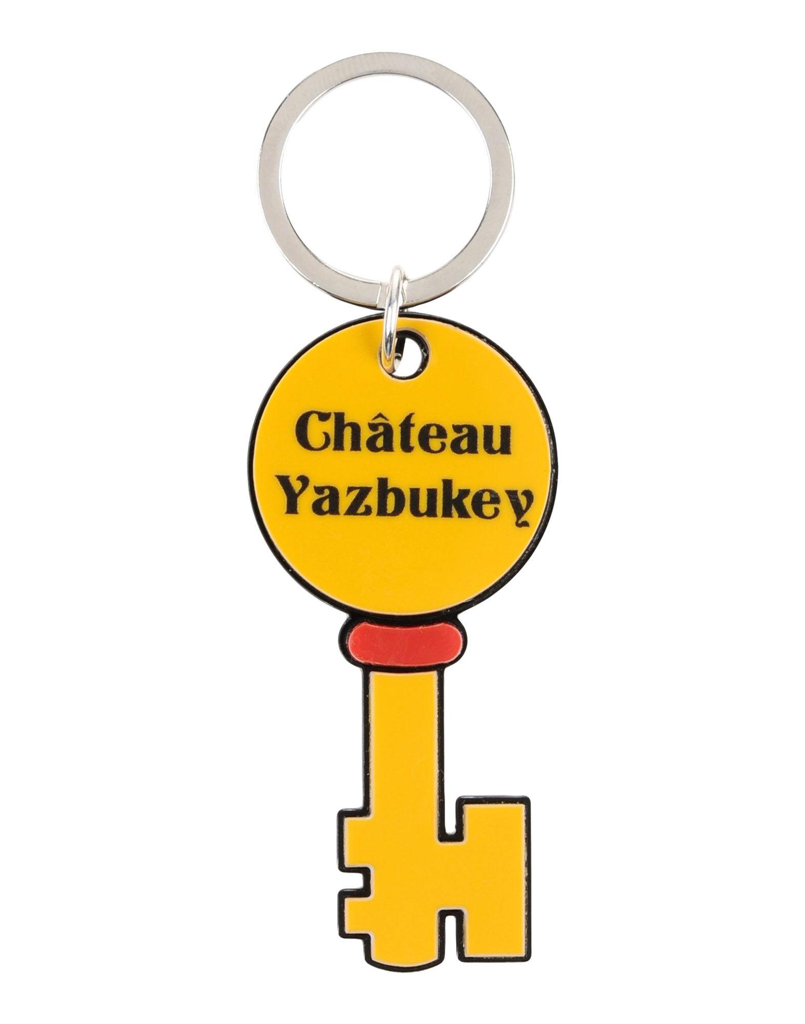 YAZBUKEY Key Ring in Ocher