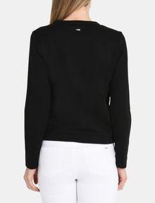 ARMANI EXCHANGE SEQUIN ARGYLE TOP L/S Knit Top Woman r