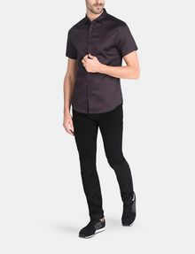 ARMANI EXCHANGE SHORT SLEEVE MICRO DIAMOND SHIRT Short sleeve shirt Man a
