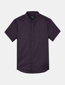 ARMANI EXCHANGE SHORT SLEEVE MICRO DIAMOND SHIRT Short sleeve shirt Man b