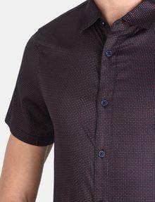 ARMANI EXCHANGE SHORT SLEEVE MICRO DIAMOND SHIRT Short sleeve shirt Man e