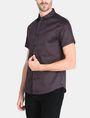 ARMANI EXCHANGE SHORT SLEEVE MICRO DIAMOND SHIRT Short sleeve shirt Man d