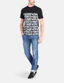 ARMANI EXCHANGE HANDWRITTEN ARMANI EXCHANGE T-SHIRT Logo T-shirt Man a