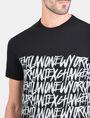 ARMANI EXCHANGE HANDWRITTEN ARMANI EXCHANGE T-SHIRT Logo T-shirt Man e