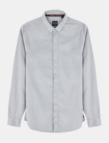 ARMANI EXCHANGE SLIM-FIT CORDUROY SHIRT Long sleeve shirt Man b