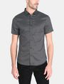 ARMANI EXCHANGE SHORT SLEEVE MICRO DIAMOND SHIRT Short sleeve shirt Man f