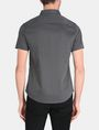 ARMANI EXCHANGE SHORT SLEEVE MICRO DIAMOND SHIRT Short sleeve shirt Man r