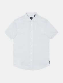 ARMANI EXCHANGE SHORT SLEEVE MICRO DIAMOND SHIRT Short sleeve shirt Man b