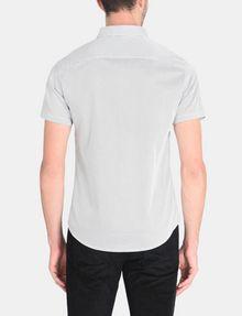 ARMANI EXCHANGE SHORT SLEEVE MICRO DIAMOND SHIRT Short sleeve shirt Man r