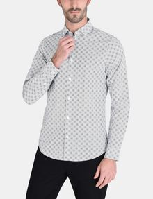 ARMANI EXCHANGE ALLOVER LOGO SHIRT Long sleeve shirt Man f