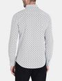 ARMANI EXCHANGE ALLOVER LOGO SHIRT Long sleeve shirt Man r