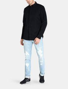 ARMANI EXCHANGE SLIM-FIT CORDUROY SHIRT Long sleeve shirt Man a