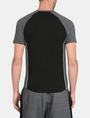 ARMANI EXCHANGE PIPED LOGO RAGLAN TEE S/S Knit Top Man r