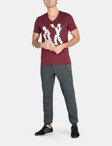 ARMANI EXCHANGE SHOOK UP LOGO V-NECK Logo T-shirt Man a