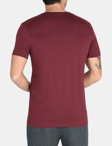 ARMANI EXCHANGE SHOOK UP LOGO V-NECK Logo T-shirt Man r