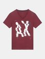 ARMANI EXCHANGE SHOOK UP LOGO V-NECK Logo T-shirt Man b