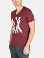 ARMANI EXCHANGE SHOOK UP LOGO V-NECK Logo T-shirt Man d