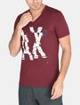 ARMANI EXCHANGE SHOOK UP LOGO V-NECK Logo T-shirt Man f
