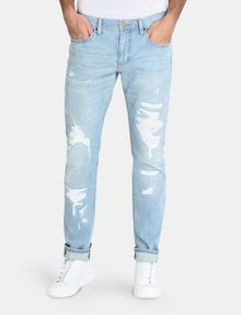 ARMANI EXCHANGE EXTREME RIP SLIM-FIT JEANS Slim fit JEANS Man f