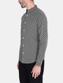 ARMANI EXCHANGE ALLOVER LOGO SHIRT Long sleeve shirt Man d