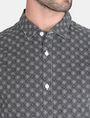 ARMANI EXCHANGE ALLOVER LOGO SHIRT Long sleeve shirt Man e