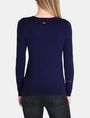 ARMANI EXCHANGE SHEER INSET SWEATER Pullover Woman r