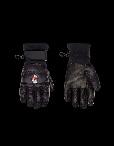 GLOVES Black Scarves & Gloves