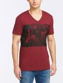 ARMANI EXCHANGE A|X BLINDERS V-NECK Logo T-shirt Man f