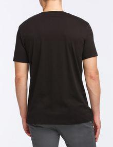 ARMANI EXCHANGE FOIL EROSION LOGO TEE Logo T-shirt Man r