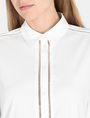 ARMANI EXCHANGE EYELET TRIM TUNIC SHIRT L/S Woven Top Woman e