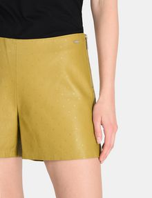 ARMANI EXCHANGE EMBOSSED SIDE-ZIP SHORT Shorts Woman e