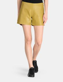 ARMANI EXCHANGE EMBOSSED SIDE-ZIP SHORT Shorts Woman f