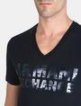 ARMANI EXCHANGE FOIL EROSION LOGO TEE Logo T-shirt Man e