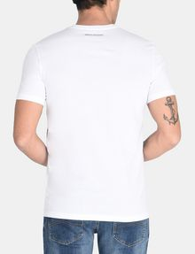 ARMANI EXCHANGE A|X BLINDERS V-NECK Logo T-shirt Man r