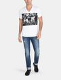 ARMANI EXCHANGE A|X BLINDERS V-NECK Logo T-shirt Man a