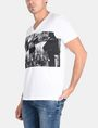 ARMANI EXCHANGE A|X BLINDERS V-NECK Logo T-shirt Man d