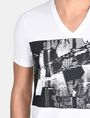ARMANI EXCHANGE A|X BLINDERS V-NECK Logo T-shirt Man e