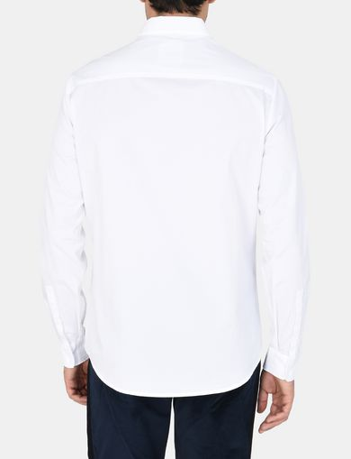 BIB-FRONT REGULAR-FIT SHIRT